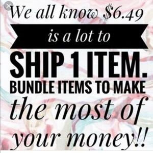 Other - Bundle and save money!!